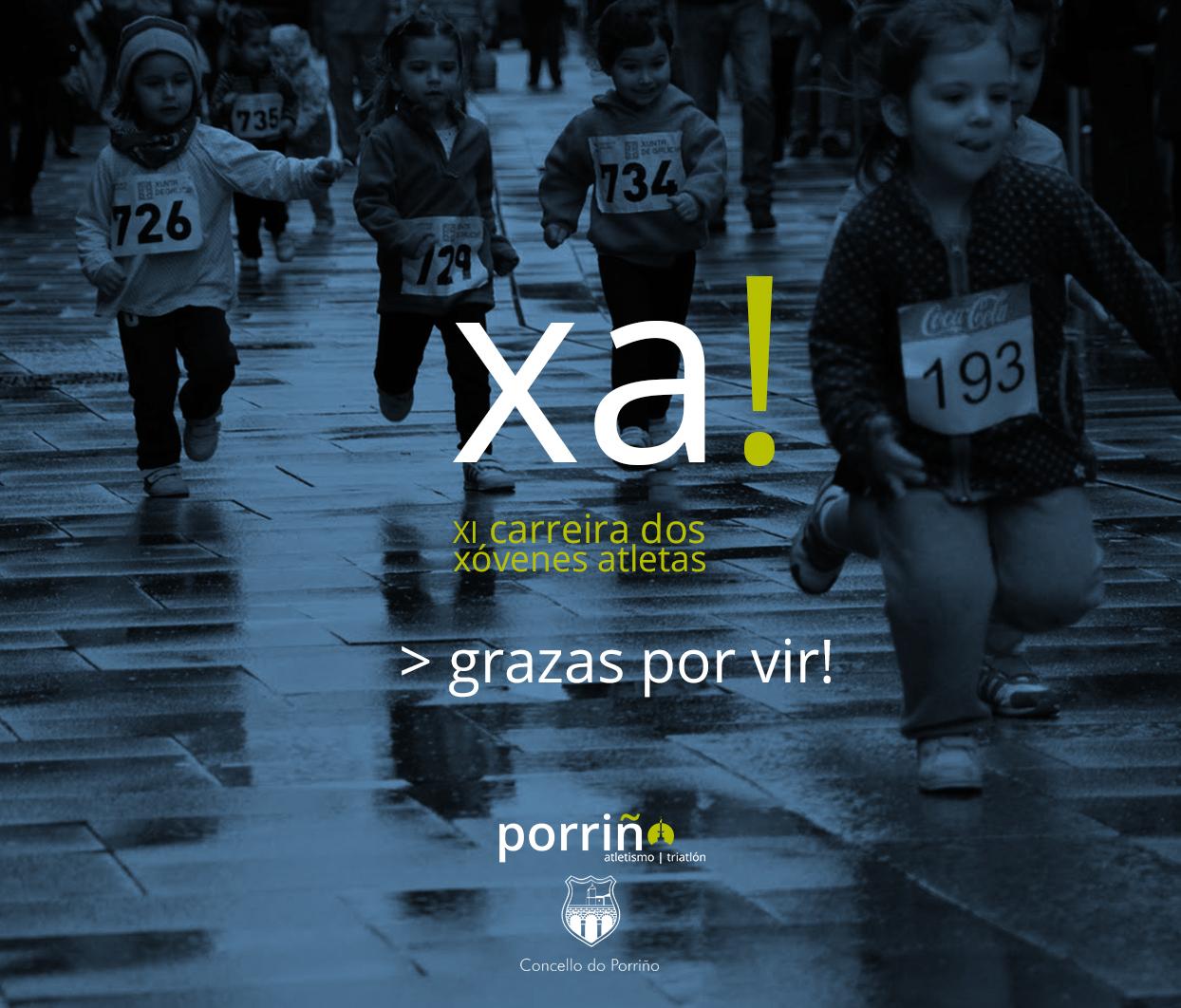 CARTEL XI XOVENES ATLETAS 2016_grazas por vir